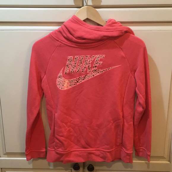 Nike Other - Nike hoodie tech m pink